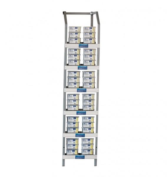 TX-Terrassenschrauben-Box-Ständer, 144-tlg.