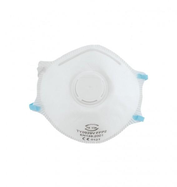 Feinstaub-Schutzmaske mit Ventil, FFP2 NR D