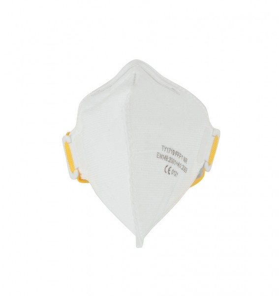Feinstaub-Atemschutzmaske, FFP1 NR, faltbar