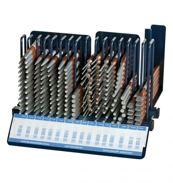 Splintentreiber-/Durchschläger-Ständer, 168-tlg.