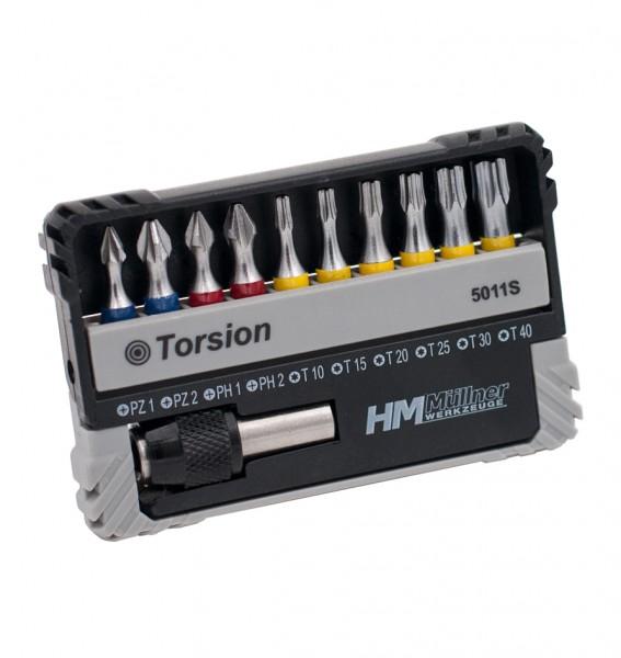 PZ/PH/TX Torsion-Bit-Box, 11-tlg.