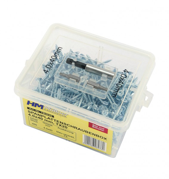 TX-Spanplattenschrauben-Box