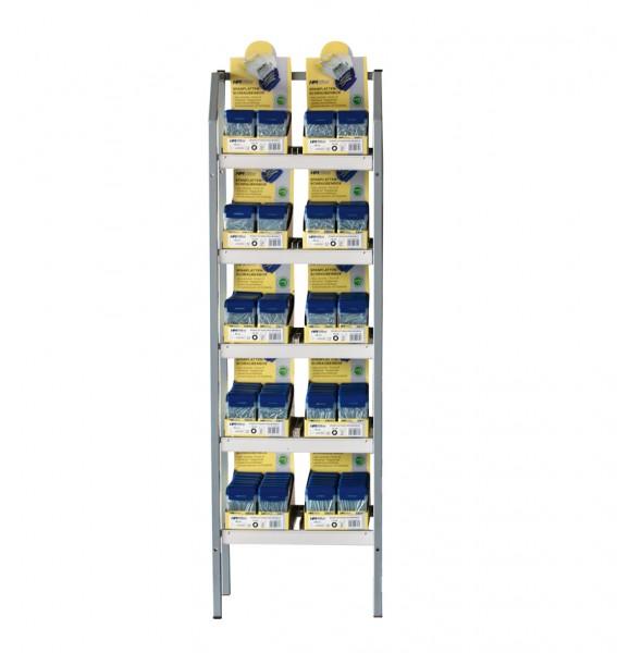 TX-Spanplattenschrauben-Box-Ständer, 120-tlg.