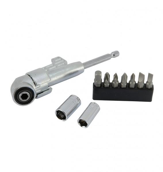 Winkel-Schraubervorsatz für Akkuschrauber