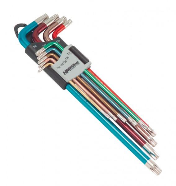 TX-Stiftschlüsselsatz, 9-tlg., TX10 bis TX50