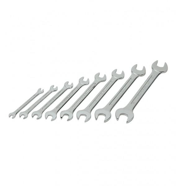 Gabelschlüsselsatz, 8-tlg., 6 bis 22 mm