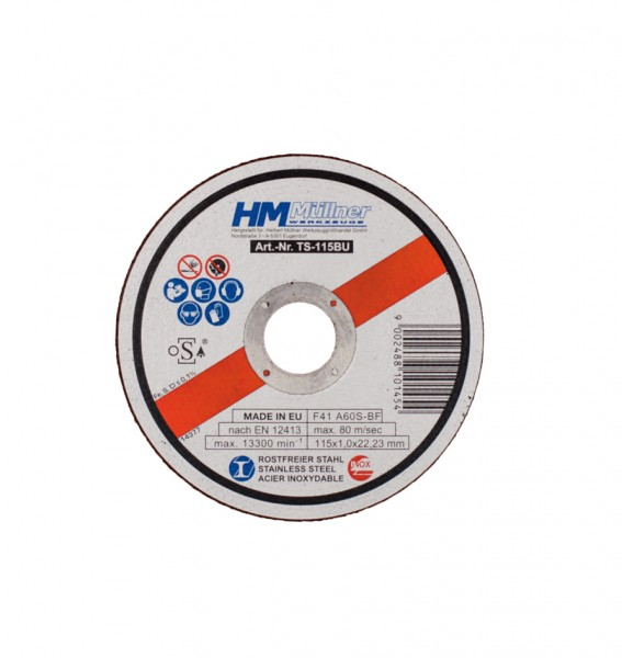 1-mm-Trennscheiben-Set, 10-tlg., für rostfreien Stahl